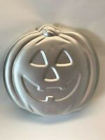 Wilton Pumpkin Jack O Lantern Halloween Cake Pan Jello Mold 2105 3068