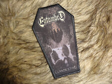 Ultra RaR Entombed Coffin Patch Death Metal Nihilist