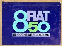Undated c1972 Fiat 850 original Uruguayan sales brochure