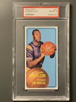 1970 Topps #65 Elgin Baylor PSA 8 NM-MT *Nice* Los Angeles Lakers HOF