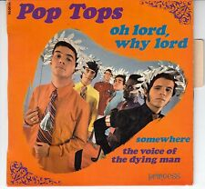 "45 T EP POP TOPS   ""OH LORD, WHY LORD"""