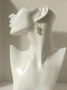 Swarovski Round Pearl Earrings