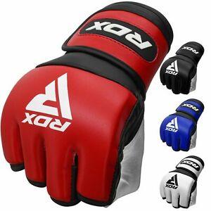 RDX MMA Handschuhe Grappling Kampfsport Kickboxen Sparring Training Boxsack