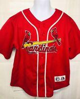 ST. LOUIS CARDINALS #23 FREESE RED MLB BASEBALL JERSEY MAJESTIC BOYS 7