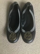 Tory Burch Ballet Flats Pumps Shoes Gold Size 38 5 8M US Caroline