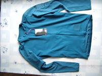 Radsport langarm Trikot von Rapha Pro Team Aero Jersey Größe L Farbe blau