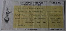 Ticket for collectors EC Tottenham Hotspur Ajax Amsterdam 1981 England Holland