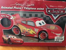 """Lightning McQueen"" Character two piece talking and animated phone"