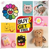 Kawaii Cute Cartoon AirPods Silicone Case Protective Cover For Apple AirPod 2 1