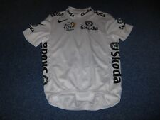 TOUR DE FRANCE 2008 NIKE YOUNG RIDER CLASSIFICATION CYCLING JERSEY [S]