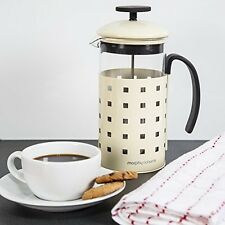Morphy Richards Accents Cafetiere, 8 Cup - Cream