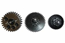 AIRSOFT HIGH TORQUE 32:1 GEAR SET MIKE4 47 V2 V3 HIGH DENSITY STEEL gearbox cogs
