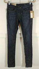 NWT $190 Women's William Rast Jerri Ultra Skinny dark wash jeans size 25