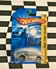 Hot Wheels 2007 New Models FE 006 Shelby Cobra Daytona Coupe Silver PR5