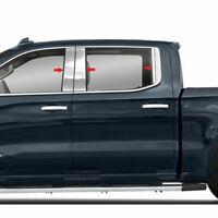 For Ford Ranger Crew Cab 2019 2020 6pcs Stainless Steel Pillar Post