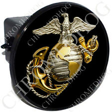 """2"""" Tow Hitch Receiver Cover Plug Insert for Most Truck & SUV - US USMC Marine"""