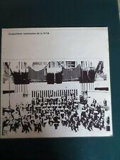 """Ancienne Carte Invitation""""CINQUANTIEME ANNIVERSAIRE DE LA R.T.B. """" 23/11/73 RARE"""