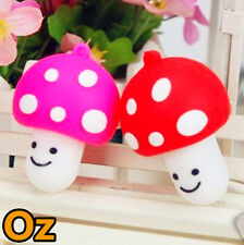 Mushroom USB Stick, 8GB 3D Cartoon Quality Chip Flash Drives WeirdLand