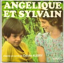 ANGELIQUE ET SYLVAIN Disque 33T 17cm CONTE Cécile AUBRY Tupperware VOXIGRAVE 565