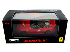 Ferrari 599XX Red 1/43 T6263  1/43 Hot Wheels Elite