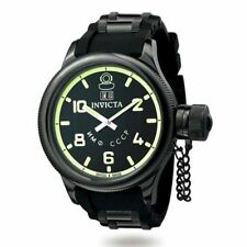 Invicta 4338 Men's Russian Diver QTZ Black Rubber