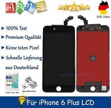 Display LCD für iPhone 6 PLUS mit RETINA Glas Scheibe Bildschirm Front SCHWARZ
