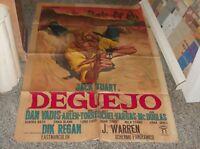 Deguejo Manifesto 2F Original 1966 Jack Stuart Dan Vadis