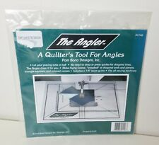 The Angler A Quilter's Tool For Angles 1146 Plastic Quilting Template   READ