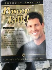 Anthony Robbins Power Talk (creating A Change & Making It Last) - CD -