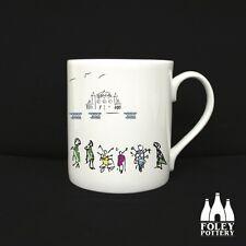 Mods, Vespa, Lambretta, Brighton, Scooter Mug by Foley Pottery,  Brighton Pier