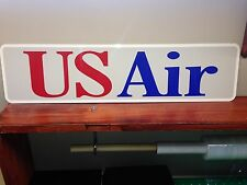 "USair Vintage style logo metal sign, Collectable, Memorabilia 6"" x 24"""
