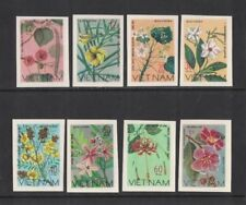 1977 Vietnam Flowers SG 155/62 imperf. MUH Set