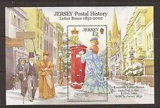 Jersey 2002 150th. Anniv of the first Pillar Box m/s MNH
