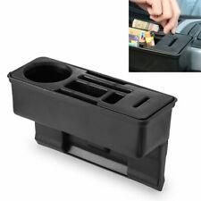 Car Seat Gap Cather Filler Storage Box Pocket Organizer Origin Holder PU Le E9R2