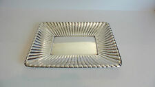 "BEAUTIFUL VINTAGE ESTATE REED & BARTON STERLING SILVER 11"" BREAD TRAY, 475 GRAMS"