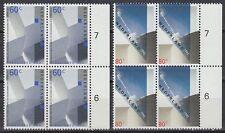 Niederlande 1992 ** Mi.1439/40 Bl/4 Architektur architecture Parlament [st2313]