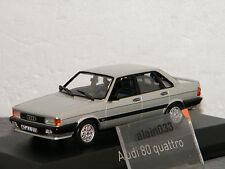 AUDI 80 GTE quattro 1985 silver NOREV 1/43 Ref 830028