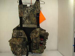 New w/tags Red Head Turkey Vest L/XL Mossy Oak Obsession Fold Down Seat lPadded