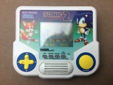 Sonic y Sonic 2 electrónico Tiger dispositivos de bolsillo (probado/en funcionamiento)