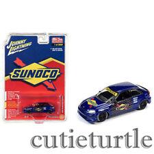 Johnny Lightning 1998 Honda Civic Custom 1:64 Sunoco Livery JLCP7193 Blue