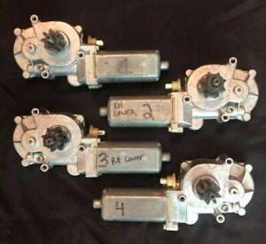 Volvo C70 Convertible Top Motor Left Right Tension Bar Set 8614948 8614949