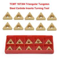 """10Pc 1/2"""" Lathe Indexable Carbide Insert Turning Tooling Bit Holder Kits"""