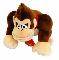"9.5"" Gorilla Doll Super Mario Bro Monkey Kong Plush Toys Stuffed Kid Animal Gift"