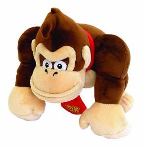 "Super Mario Bro Donkey Kong Plush Toys Gorilla 9.5"" Stuffed Doll Kid Anime Gifts"