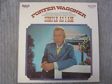 PORTER WAGONER ~ SIMPLE AS I AM  VINYL RECORD LP  COUNTRY 1971