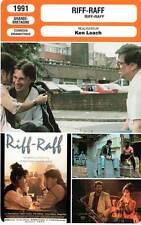 FICHE CINEMA : RIFF RAFF - Carlyle,McCourt,Coleman,Ken Loach 1991