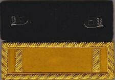 Civil War Cavalry 1st Lieutenant Shoulder Boards-Straps w/Frock Clips &Free Coin