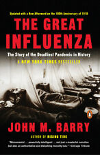 The Great Influenza by John M. Barry - NYT Bestseller  (PB, 2005) NEW