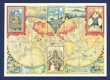 BRITISH VIRGIN ISLANDS - Sc 394A - VFMNH S/S - Sir Francis Drake - 1980