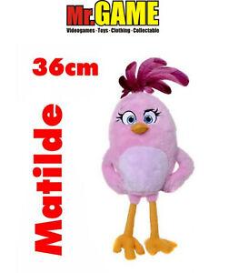 PELUCHE MATILDA ANGRY BIRDS 36 CM NUOVO CON ETICHETTE ORIGINALE